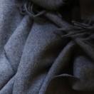 Grey Baby Alpaca Throw Bella