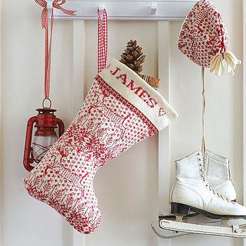 wool stocking