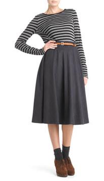 camel-wool-skirt