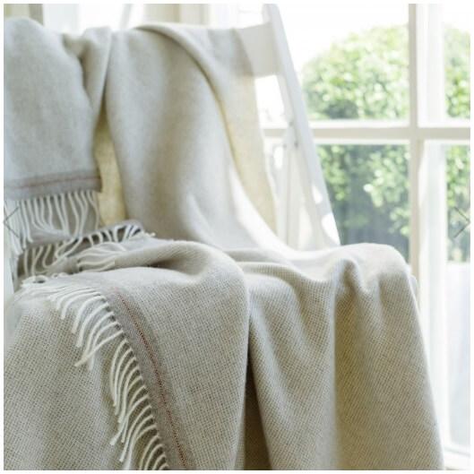 cashmere throws - WoolMe