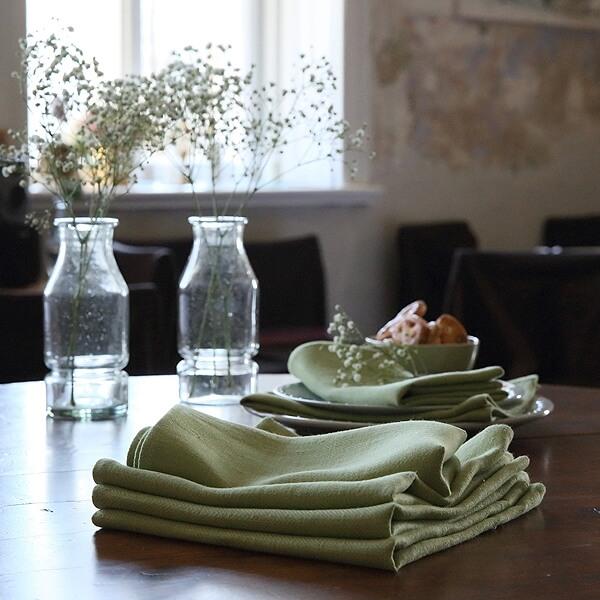 linen napkins - summer picnic