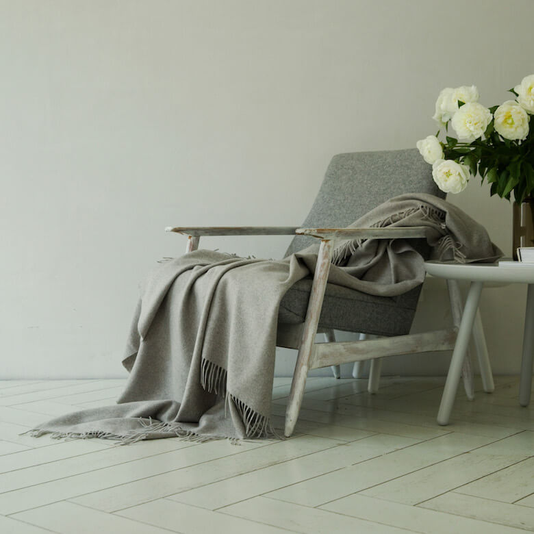 cashmere wool throw fall